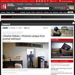 «Charlie Hebdo», l'histoire unique d'un journal satirique