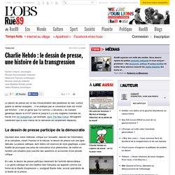 Charlie Hebdo: le dessin de presse, une histoire de la transgression