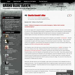 Charlie Kenobi's War « Grand Blog Tarkin