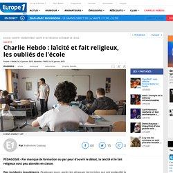 Charlie Hebdo : laïcité et fait religieux, les oubliés de l'école