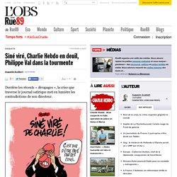 Liberté d'expression à Charlie Hebdo, du Pipo !