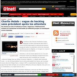 Charlie Hebdo : vague de hacking sans précédent après les attentats