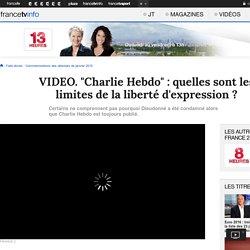 """""""Charlie Hebdo"""" : quelles sont les limites de la liberté d'expression ?"""