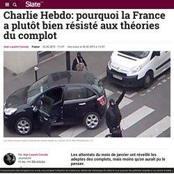 Charlie Hebdo: pourquoi la France a plutôt bien résisté aux théories du complot
