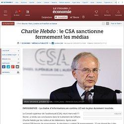 Charlie Hebdo : le CSA sanctionne fermement les médias