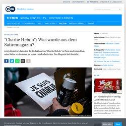 """dw - """"Charlie Hebdo"""": Was wurde aus dem Satiremagazin?"""
