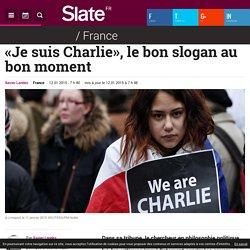 «Je suis Charlie», le bon slogan au bon moment - Slate.fr