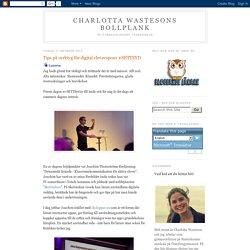Charlotta Wastesons bollplank: Tips på verktyg för digital elevrespons #SETTSYD