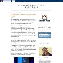 Charlotta Wastesons bollplank