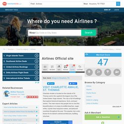 Airlines Official site in Houston, TX 77021