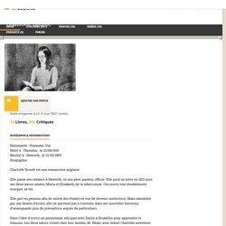 Charlotte Brontë - Babelio