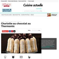 Charlotte au chocolat au Thermomix, facile et pas cher