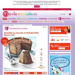 Recette de Charlotte au chocolat et Véritable Petit Beurre LU®