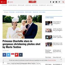 Princess Charlotte stars in beautiful christening photos taken by Mario Testino