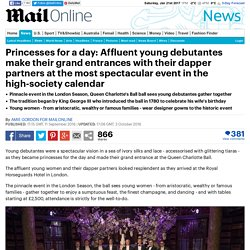 Queen Charlotte's Ball sees Affluent young debutantes make their grand entrances