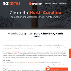 Website Design Charlotte North Carolina
