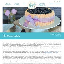 Charlotte aux myrtilles - Laet's bake it