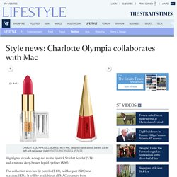 Style news: Charlotte Olympia collaborates with Mac, Fashion News