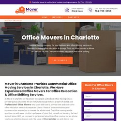 Office Movers Charlotte - Office Relocation & Office Shifting Services