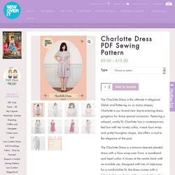Charlotte Dress PDF Sewing Pattern: Sew Over It Online Fabric Shop