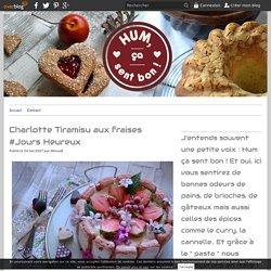 Charlotte Tiramisu aux fraises