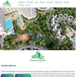Charm Long Hải Resort & Spa căn hộ nghỉ dưỡng - Nhà Đất VIP