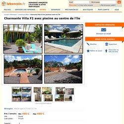 Charmante Villa F2 avec piscine au centre de l'île Locations & Gîtes Martinique