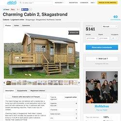 Charming Cabin 2, Skagastrond à Skagaströnd