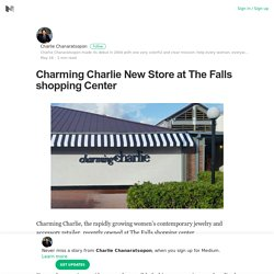 Charming Charlie New Store at The Falls shopping Center