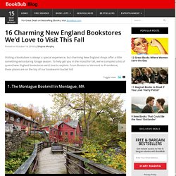 16 Charming New England Bookstores We'd Love to Visit This Fall