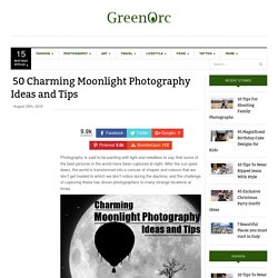 50 Charming Moonlight Photography Ideas and Tips - Greenorc