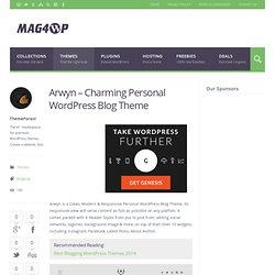Arwyn - Charming Personal WordPress Blog Theme