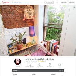 huge charming apt loft east village - Appartements à louer à New York