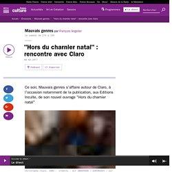 Rencontre avec Claro (Mauvais genres, François Angelier)