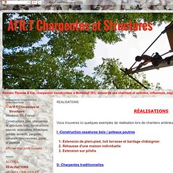 Al'R.T Charpentes et Structures: REALISATIONS