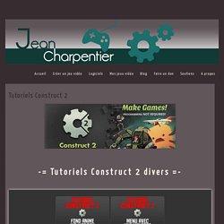Jean CHARPENTIERTutoriels Construct 2 - Jean CHARPENTIER