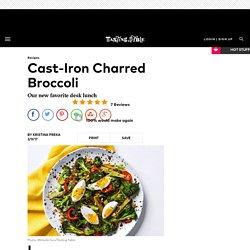 Cast-Iron Charred Broccoli Recipe
