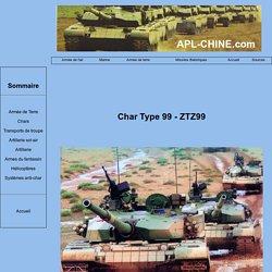 Chars de l'armée chinoise : Type 99 - ZTZ99