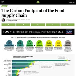 Chart: The Carbon Footprint of the Food Supply Chain