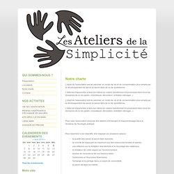 Notre charte - les ateliers de la simplicité