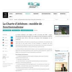 La Charte d'Athènes : modèle de fonctionnalisme