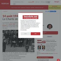 14 août 1941 - La Charte de l'Atlantique - Herodote.net