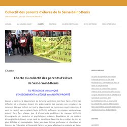Collectif des parents d'élèves de la Seine-Saint-Denis