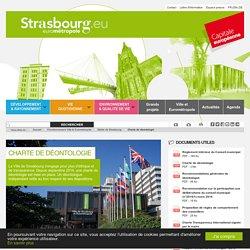 Mairie de Strasbourg : charte de déontologie