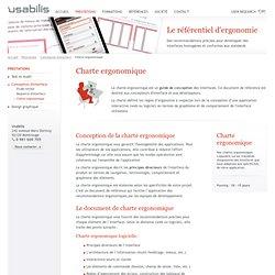 Charte ergonomique (Usabilis)