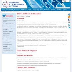 Charte d'éthique de l'ingénieur