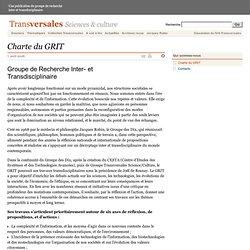 Charte du GRIT