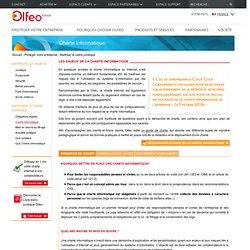 Exemple de charte informatique · Portail client Olfeo