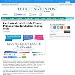 La charte de la laïcité de Vincent Peillon arrive lundi dans chaque école