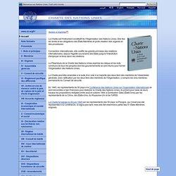 Charte des Nations Unies